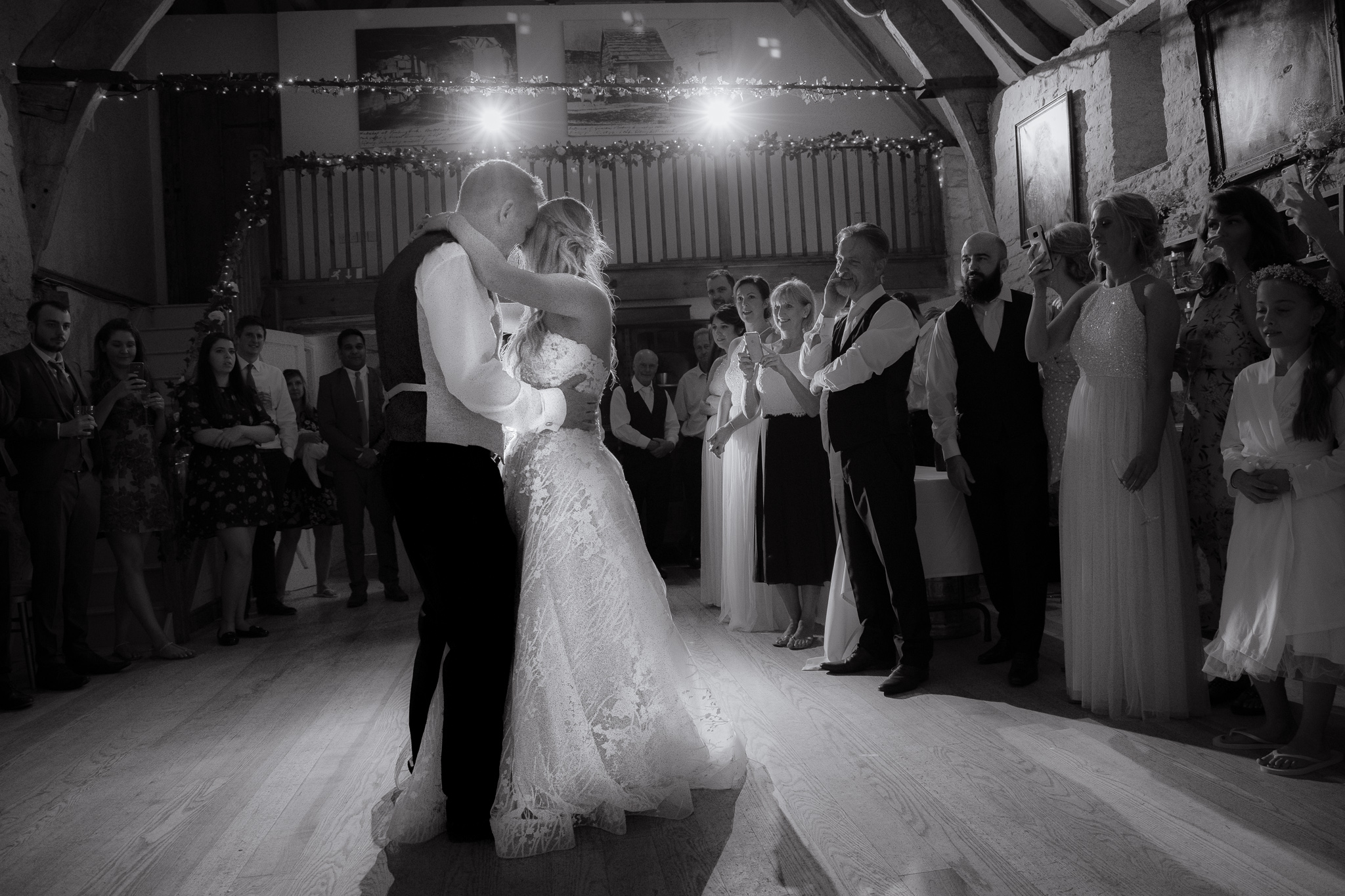 first dance photography at wedding