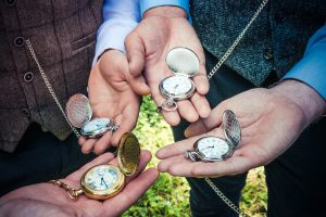 pocket watches closeup