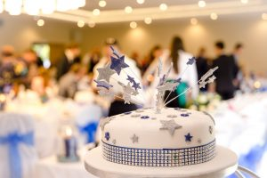 wedding cake at storehouse court