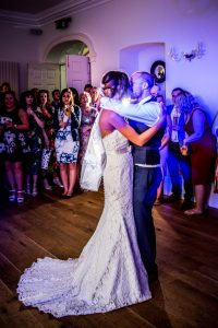 First dance wedding photography old down