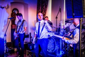 chip shop boys band at wedding