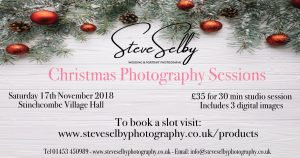 Christmas studio session advert
